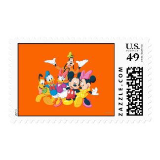 Mickey Mouse & Friends 4 Postage Stamp