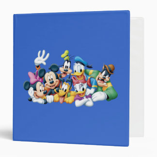 Mickey Mouse & Friends 5 Vinyl Binders