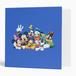 Mickey Mouse & Friends 5 3 Ring Binders