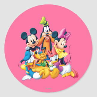 Mickey Mouse & Friends 6 Sticker