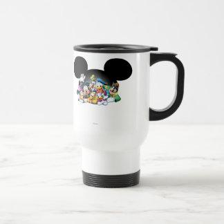 Mickey Mouse & Friends 7 Coffee Mugs
