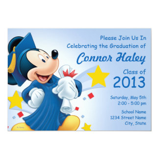 Mickey Mouse | Graduation Card