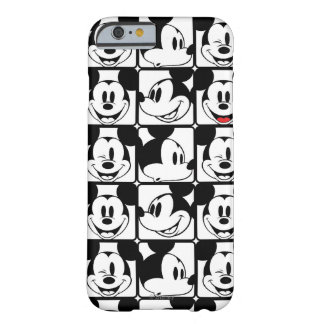 Mickey Mouse   Grid Pattern Barely There iPhone 6 Case