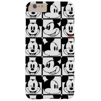 Mickey Mouse   Grid Pattern Barely There iPhone 6 Plus Case