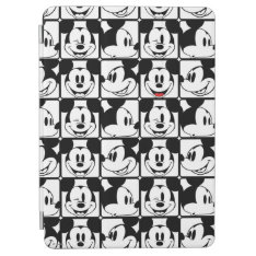 Mickey Mouse | Grid Pattern iPad Air Cover at Zazzle
