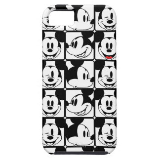 Mickey Mouse | Grid Pattern iPhone SE/5/5s Case
