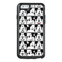 Mickey Mouse | Grid Pattern OtterBox iPhone 6/6s Case