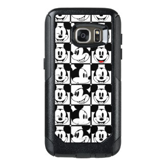 Mickey Mouse | Grid Pattern OtterBox Samsung Galaxy S7 Case