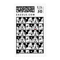 Mickey Mouse | Grid Pattern Postage