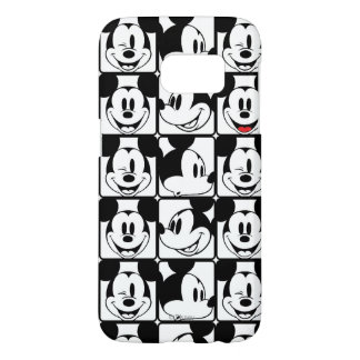 Mickey Mouse | Grid Pattern Samsung Galaxy S7 Case