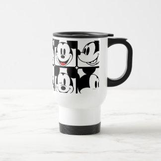 Mickey Mouse | Grid Pattern Travel Mug