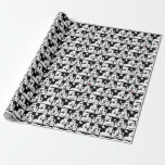 Mickey Mouse | Grid Pattern Wrapping Paper