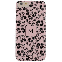 Mickey Mouse Patterns Case-Mate Barely There iPhone 6 Plus Case