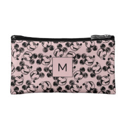Small Cosmetic Bag with Mickey Mouse Patterns design