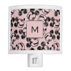 Night Light with Mickey Mouse Patterns design