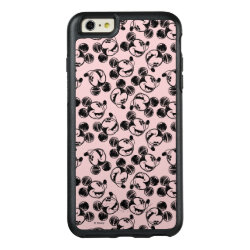 OtterBox Symmetry iPhone 6/6s Plus Case with Mickey Mouse Patterns design