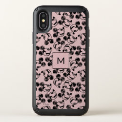 Mickey Mouse Patterns Speck Presidio iPhone X Case