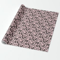 Glossy Wrapping Paper (15 foot roll) with Mickey Mouse Patterns design