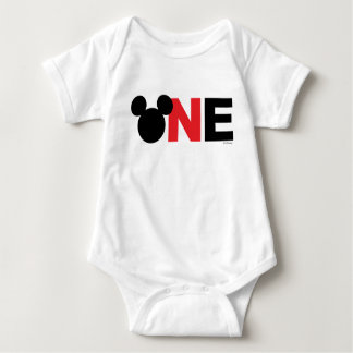 Mickey Mouse | Icon First Birthday Baby Bodysuit