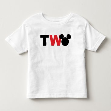 Disney Themed Mickey Mouse | Icon Second Birthday Toddler T-shirt