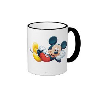 Mickey Mouse Laying Down Coffee Mug