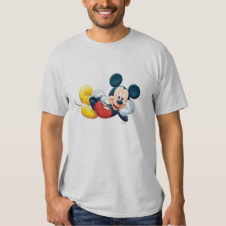 Mickey Mouse Laying Down T Shirts