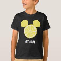 Mickey Mouse Lemon Icon   Name T-Shirt