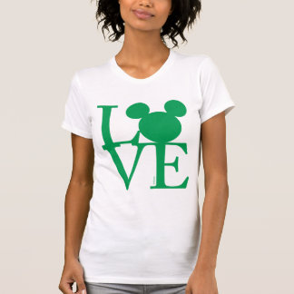 Mickey Mouse LOVE | St. Patrick's Day T-Shirt