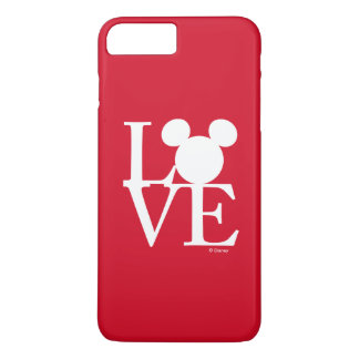 Mickey Mouse LOVE | Valentine's Day 3 iPhone 8 Plus/7 Plus Case