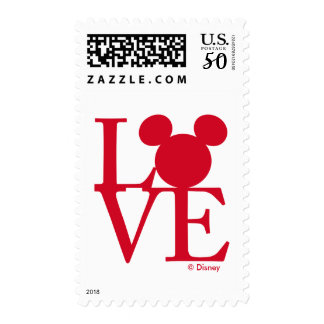 Mickey Mouse LOVE | Valentine's Day Postage