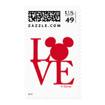 Mickey Mouse LOVE   Valentine's Day Postage