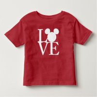 Mickey Mouse LOVE | Valentine's Day Toddler T-shirt