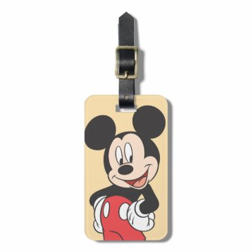Professional Business Mickey Mouse Luggage Tag