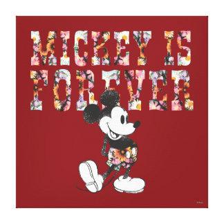 Mickey Mouse - Mickey es Forever Lona Envuelta Para Galerias
