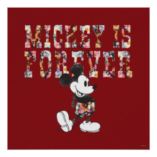 Mickey Mouse - Mickey es Forever Póster