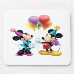 Mickey Mouse & Minnie Birthday Mouse Pads