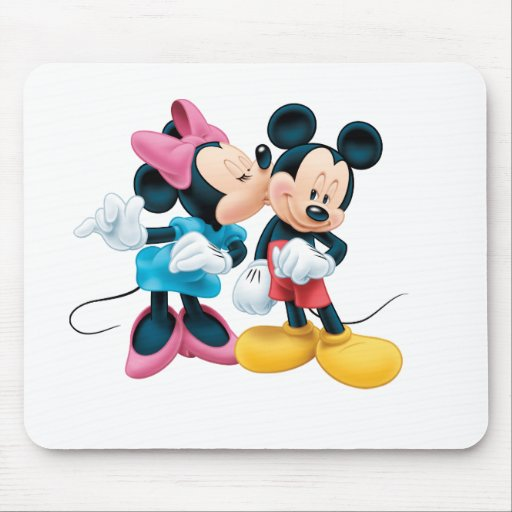 Mickey Mouse & Minnie Mouse Pad