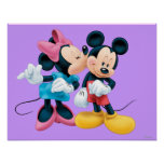 Mickey Mouse & Minnie Poster