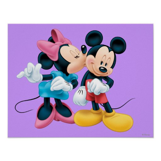 Mickey Mouse & Minnie Posters
