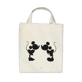 Mickey Mouse & Minnie  Silhouette Bag