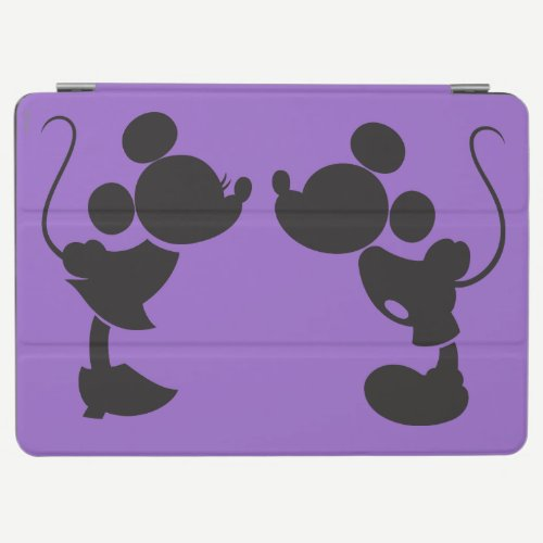 Mickey Mouse & Minnie  Silhouette iPad Air Cover