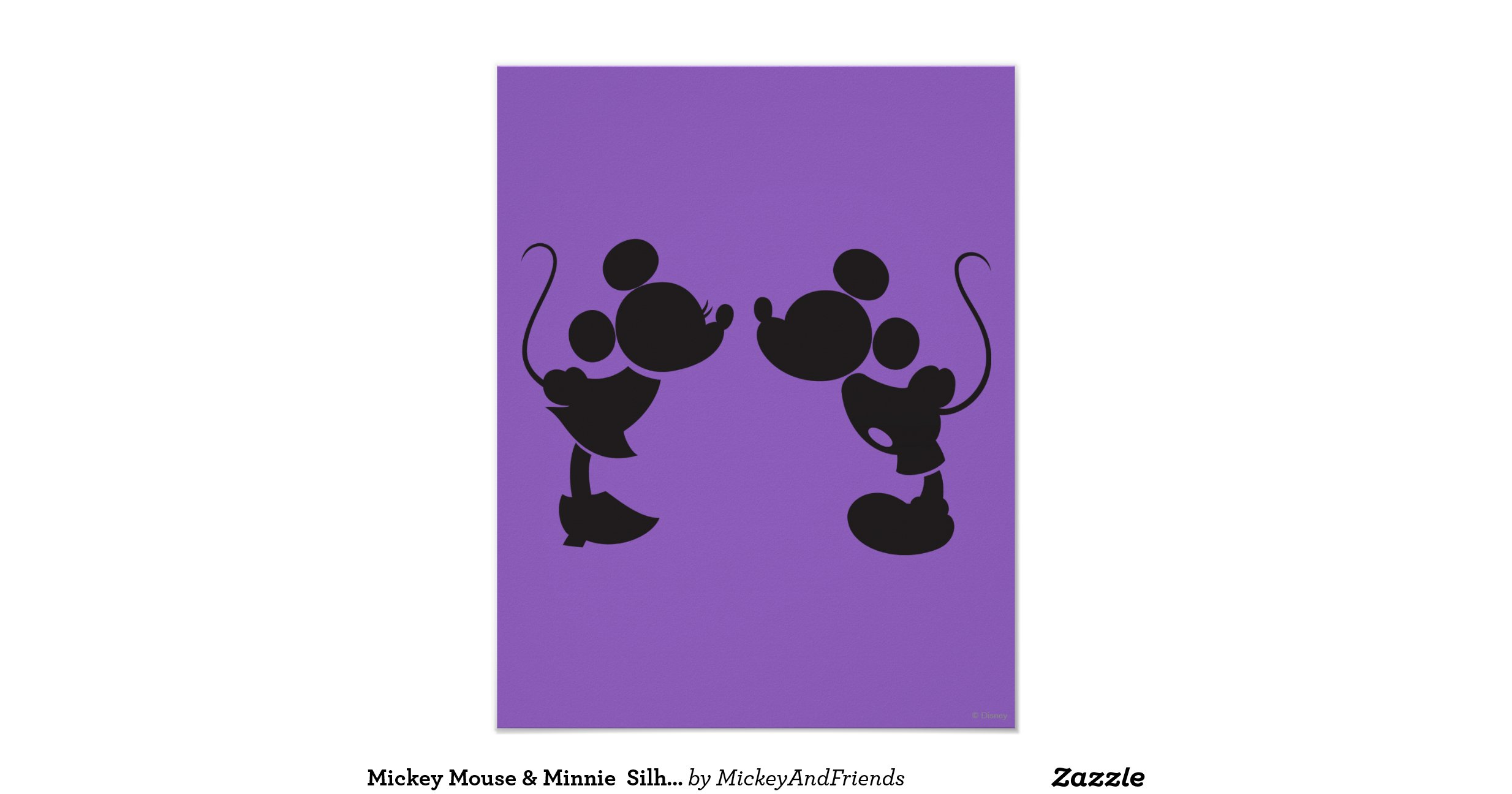 Mouse silhouette template