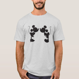 Mickey Mouse & Minnie  Silhouette T-Shirt