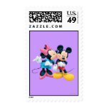 Mickey Mouse & Minnie Stamps