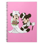 Mickey Mouse & Minnie Wedding Notebook