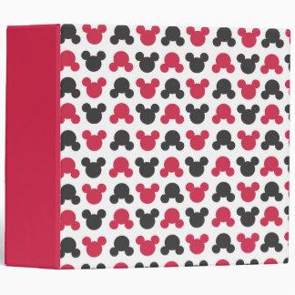 "Mickey Mouse modelo negro y rojo del | Carpeta 2"""