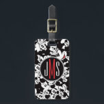 "Mickey Mouse | Monogram Crowd Pattern Bag Tag<br><div class=""desc"">Mickey Mouse</div>"