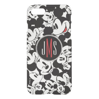 Mickey Mouse | Monogram Crowd Pattern iPhone 7 Case