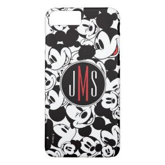Mickey Mouse | Monogram Crowd Pattern iPhone 8 Plus/7 Plus Case