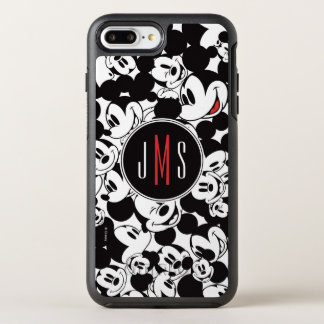 Mickey Mouse | Monogram Crowd Pattern OtterBox Symmetry iPhone 7 Plus Case